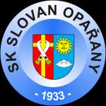 znak SK Slovan Opařany, s erbem Opařan